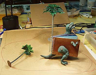 Maquette for 7 Extinction Events